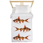 Goonch Catfish Twin Duvet Cover