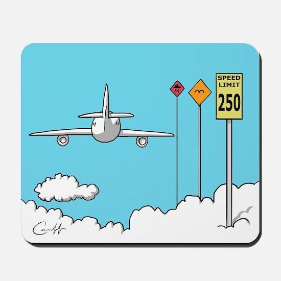 Fly Safe Mousepad