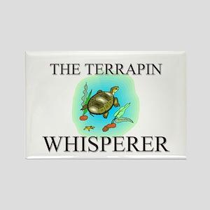 The Terrapin Whisperer Rectangle Magnet