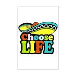 Choose life Mini Poster Print