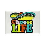 Choose life Rectangle Magnet (100 pack)