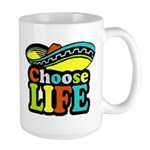 Choose life Large Mug
