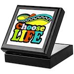 Choose life Keepsake Box