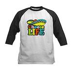 Choose life Kids Baseball Jersey