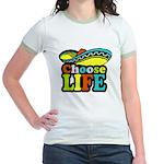 Choose life Jr. Ringer T-Shirt