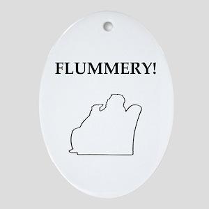 flummery Oval Ornament