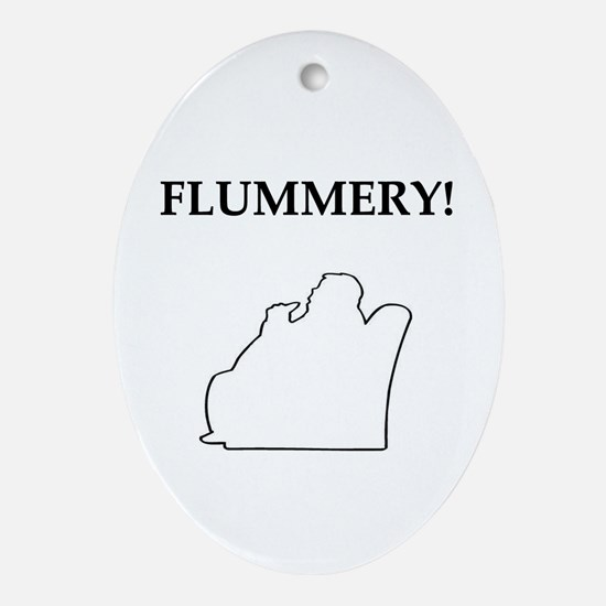 flummery Oval Ornament