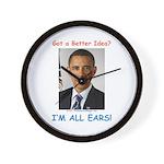 All Ears Wall Clock