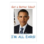 All Ears Postcards (Package of 8)