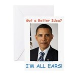 All Ears Greeting Cards (Pk of 10)