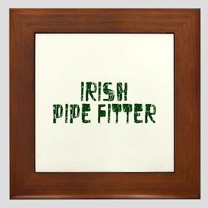 Irish Pipe Fitter Framed Tile