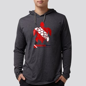 Turtle Dive Flag Long Sleeve T-Shirt