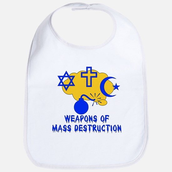 Religion Mass Destruction Bib