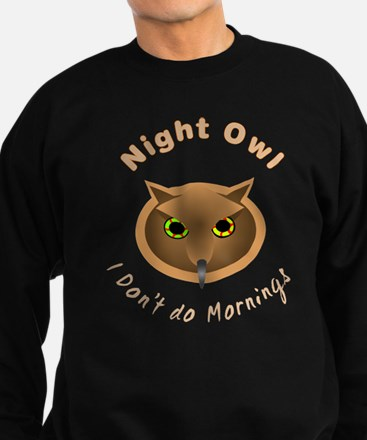 No Sleep Night Owl Sweatshirt (dark)