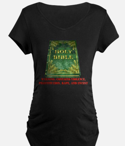 Bible Sex Violence Warning T-Shirt