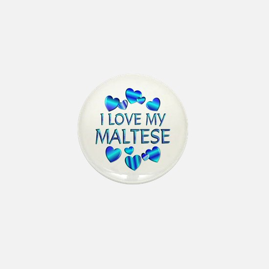Maltese Mini Button