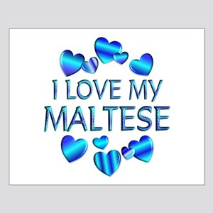 Maltese Small Poster