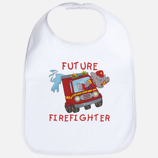 Fire Truck Future Firefighter Bib