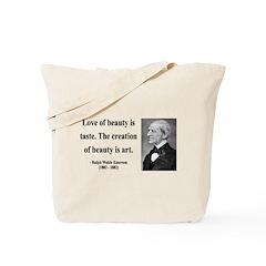 Ralph Waldo Emerson 21 Tote Bag