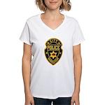 Madera Police Women's V-Neck T-Shirt