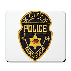 Madera Police Mousepad