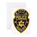 Madera Police Greeting Cards (Pk of 10)