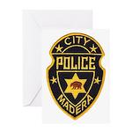 Madera Police Greeting Card