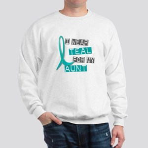 I Wear Teal For My Aunt 37 Sweatshirt