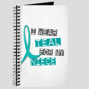 I Wear Teal For My Niece 37 Journal