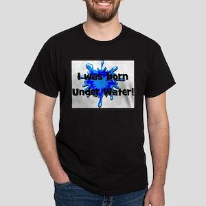 I was born underwater Dark T-Shirt