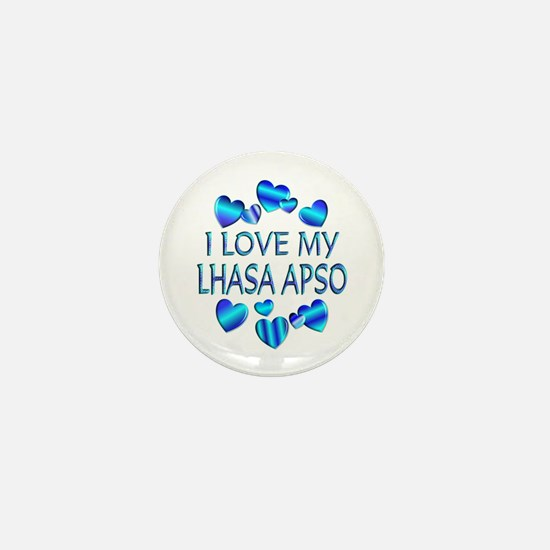 Lhasa Mini Button