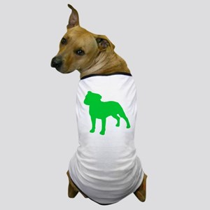 Staffordshire Bull Terrier St. Patty's Day Dog T-S