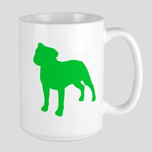 Staffordshire Bull Terrier St. Patty's Day Large M
