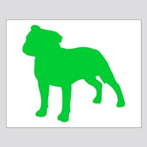 Staffordshire Bull Terrier St. Patty's Day Small P
