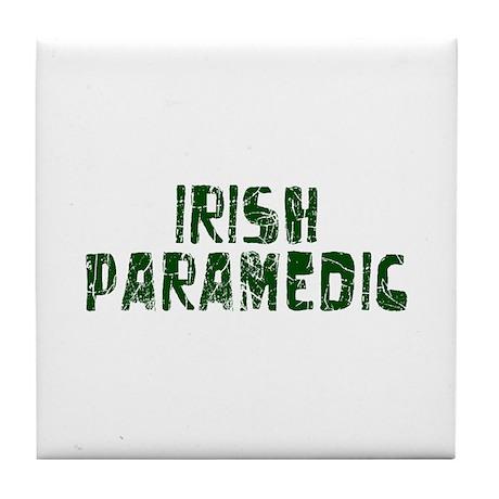 Irish Paramedic Tile Coaster
