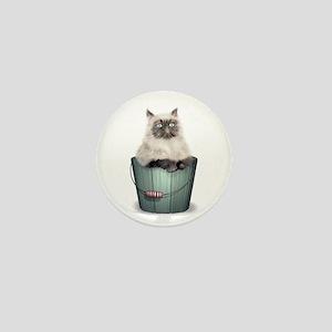 Himalayan Kitten Mini Button
