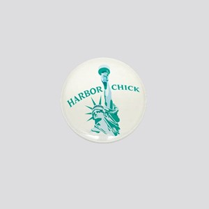 Habor Chick Mini Button
