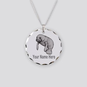 I love Manatees Necklace