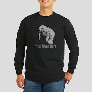 I love Manatees Long Sleeve T-Shirt