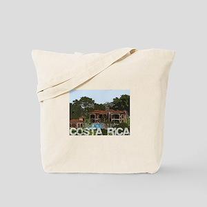 Beach house in costa rica Tote Bag