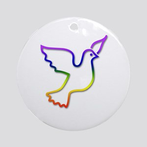 Pride Dove Keepsake (Round)
