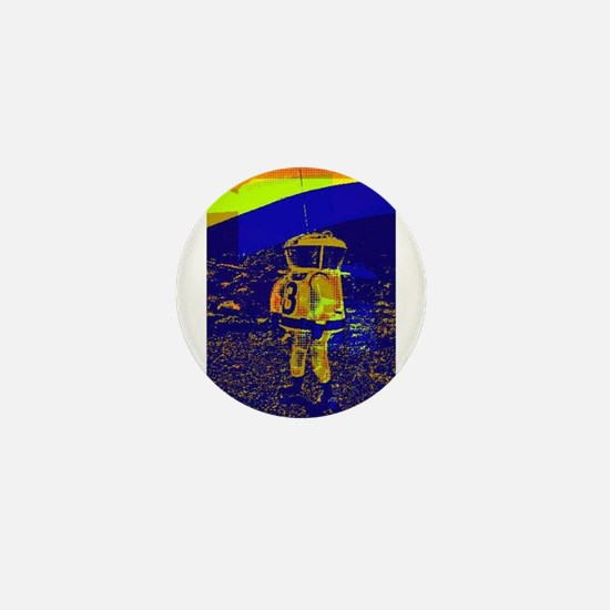 SpaceMan Mini Button