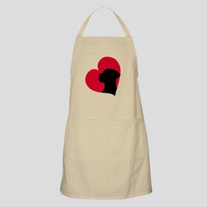 Red Heart N BBQ Apron