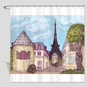 Paris Eiffel Tower inspired landscape cityscape pa