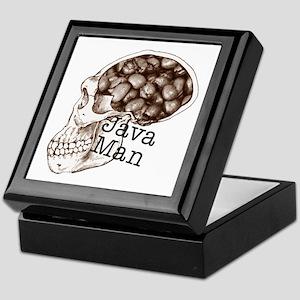 Java Bean Man Keepsake Box