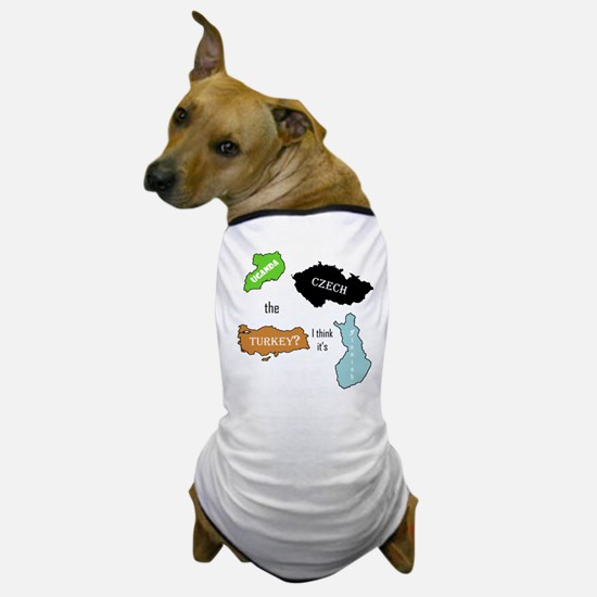 Cute Geography teacher Dog T-Shirt