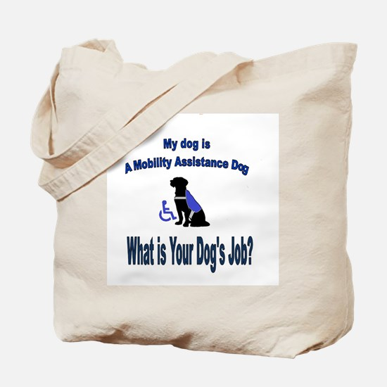 mobility assistance dog boy Tote Bag