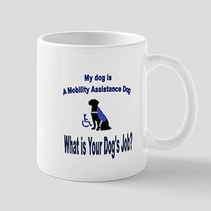 mobility assistance dog boy Mugs