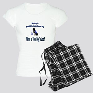 mobility assistance dog boy Pajamas