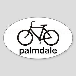 Bike Palmdale Oval Sticker